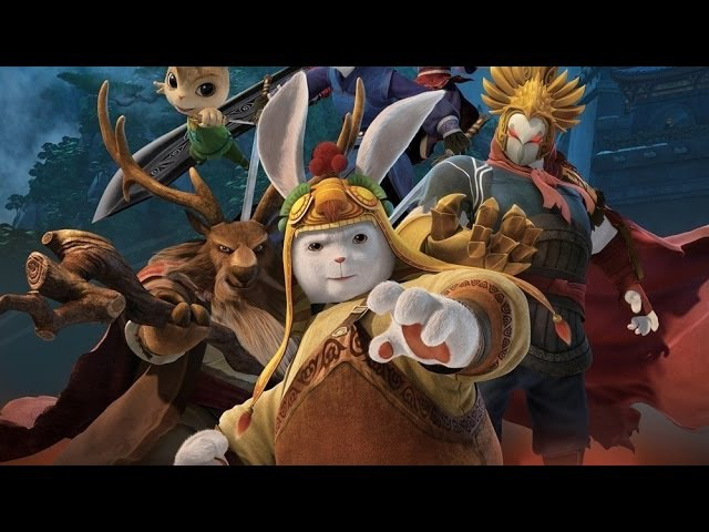 Кунг фу Кролик Володар вогню Tu Xia Chuan Qi:Qing Li Chuan Shuo російський трейлер