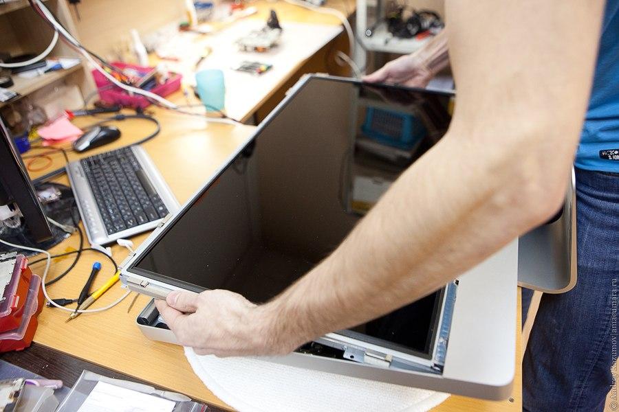 Ремонт Apple iMac сервис чистка