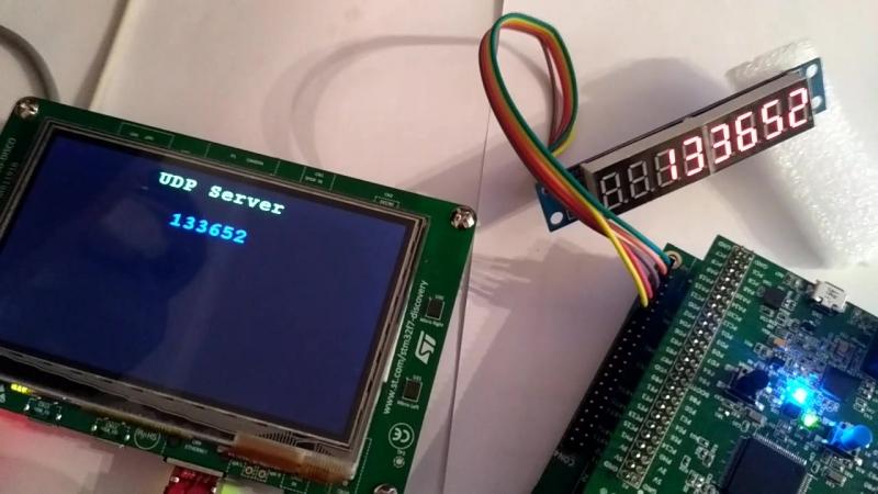 Передача 32-битного числа по протоколу UDP