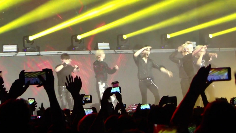 [VK][180812] MONSTA X fancam - Rush @ The 2nd World Tour: The Connect in Sao Paulo