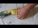 Идея подачи ананаса
