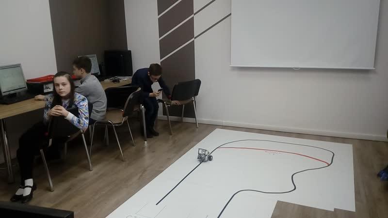 Выпускной группы 3 модуля робототехники Lego Mindstorm