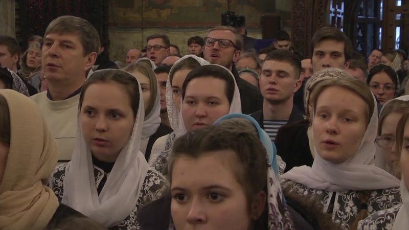 Патриаршая Литургия. Успенский собор Московского Кремля. 2019 год
