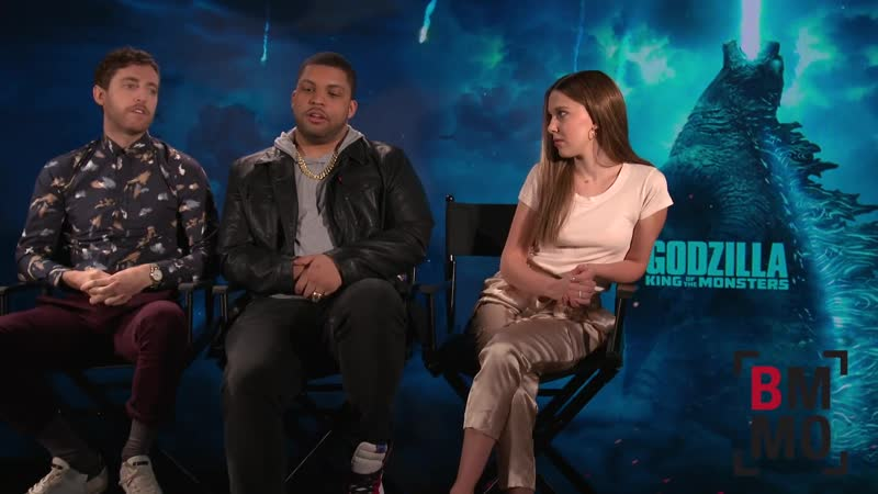 Millie Bobby Brown, Thomas Middleditch and O'Shea Jackson Jr. Interview - Godzilla: King of Monsters