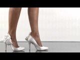 Атласные свадебные туфли Вourne HANNAH