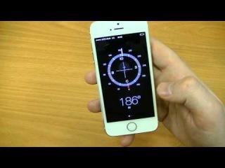Обзор Apple iPhone 5S Gold / Золотой. К деньгам...( Часть 2. Обзор и внешний вид )