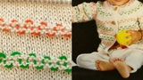 Embroidery on Sweater in HindiEasy Sweater for KidsEasy Wool EmbroideryBacho ka SweaterDesign-70
