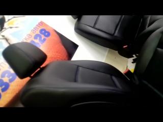 Перетяжка передних сидений
