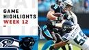 Seahawks vs Panthers Week 12 Highlights NFL 2018