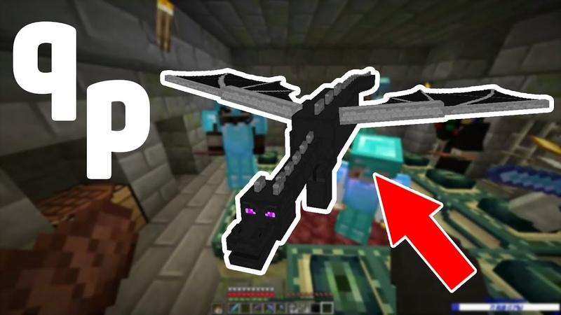 QuietPlace(Приватный сервер Minecraft) - 1 - Убиваем дракона!