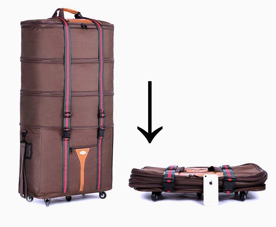Мегаудобная сумка для путешествий и командировок