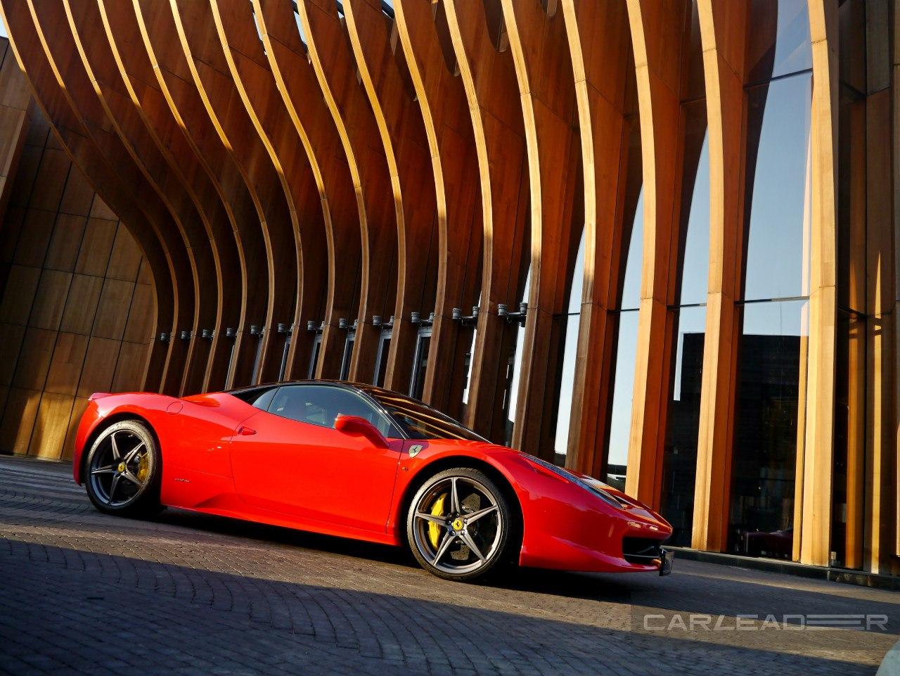 Красной может быть только Ferrari.