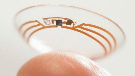 Google: создан прототип контактных линз-глюкометров