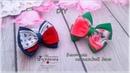 🎀 Бантики-малышки на каждый день 🎀 Канзаши 🎀 Ribbon bow Kanzashi 🎀 Hand мade 🎀 DIY