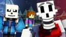 To The Bone Minecraft Undertale Music Video PACIFIST