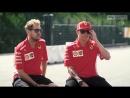 2018 Italy - Teammates Kimi and Seb
