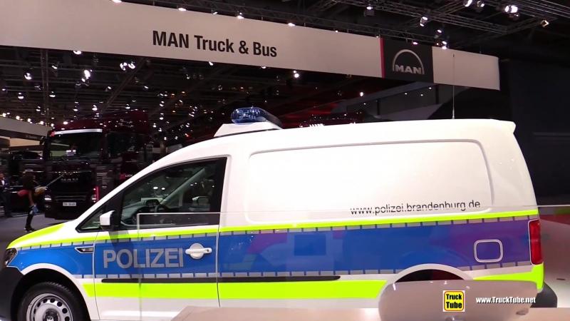 2019 Volkswagen Caddy Maxi Police Dog Handler Vehicle - Walkaround - 2018 IAA Hannover