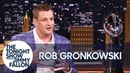 Rob Gronkowski Got Hit in the Head with a Can of Beer During the Super Bowl Parade