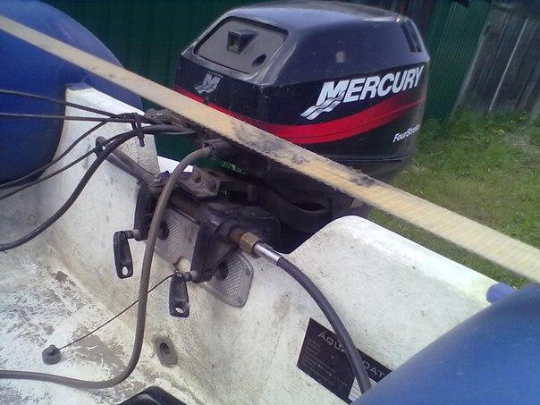 Дистанционное управление на лодочный мотор своими руками 912