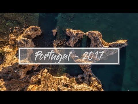 Portugal by Drone | Faro - Algarve - Porto | DJI Mavic Pro 4k | Roadtrip 2017