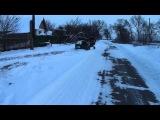 Мотоблок чистка снега с адаптером )