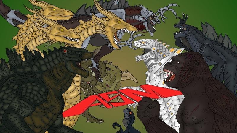 Кинг Конг против Годзиллы - ASM / King Kong vs. Godzilla - ASM