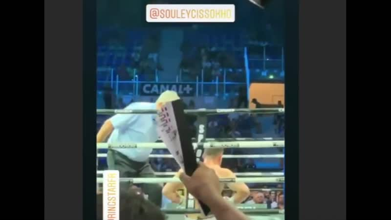 Побитый Елеусиновым на Олимпиаде боксер нокаутом одержал десятую победу в профи. Видео
