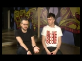 Арсений Попов и Дмитрий Позов актеры шоу «Импровизация» на ТНТ