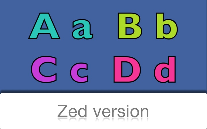 ABC Alphabet Song (Zed Version)
