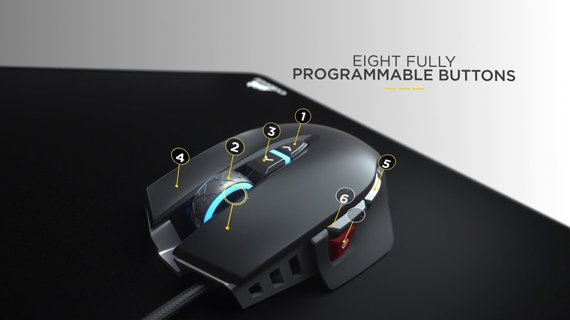 CORSAIR M65 RGB ELITE - Performance. Precision. Perfection.