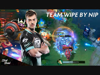 Team wipe by ninjas in pyjamas