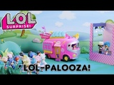 LOL Surprise! Stop Motion Cartoon LOL-Palooza featuring Lalaloopsy