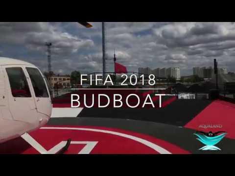 Aqualand LTD Moscow Russia FIFA 2018 BUD BOAT