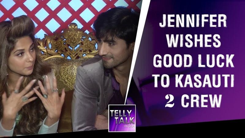 TV Star Jennifer Winget Wishes Good Luck To Kasauti Zindagi Ki 2 Crew