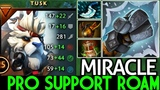 Miracle- Tusk Pro Support Roaming Party Game 7.20 Dota 2