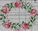 Полевые цветы схемы вышивки крестом.