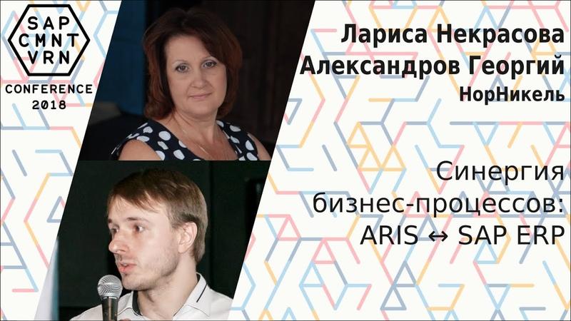 Лариса Некрасова, Георгий Александров - Синергия бизнес-процессов: ARIS ↔ SAP ERP