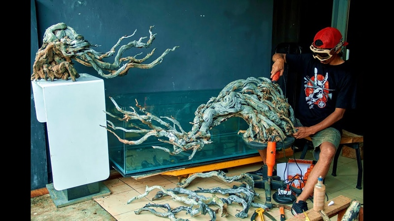 How to make Driftwood for aquascape