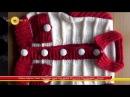 Rüksan Sökmen Yakalı Cepli Bebe Ceket Örgü Modeli 2014 Yılı El Örgü Modelleri Antalya