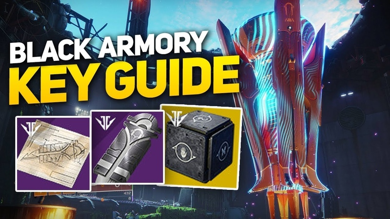 Full Black Armory Lock Key! ( Maximum Temper) - Mysterious Box Quest Guide PART 4!