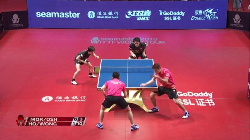 2018 Hong Kong Open Highlights | M.MorizonoYuya Oshima vs Wong Chun TingHo Kwan Kit (Final)