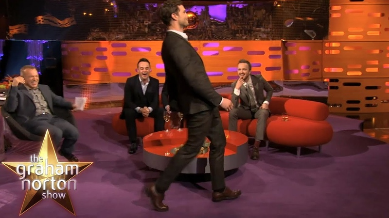 Jamie Dornans Ridiculous Walk   The Graham Norton Show