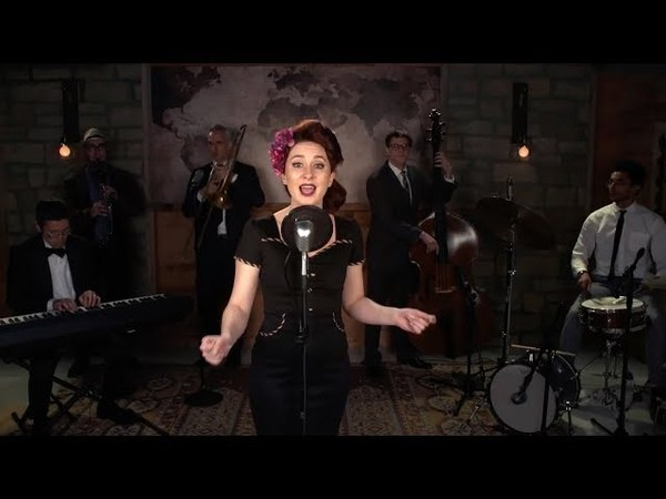 Lullaby of Birdland (Ella Fitzgerald) Jazz Standard Cover by Robyn Adele Anderson