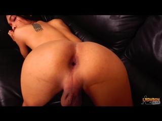 [LadyBoy.xxx] Tiff - Horny Bunny Tiff Cums! (Трансы порно shemale Tranny porn si