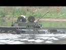 Форсирование водной преграды на БМП2 эффектные кадры учений Мотострелки