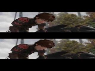 Как приручить дракона 2 - Первые 5 минут фильма в 3D (дублированный отрывок) [Full HD 1080p]