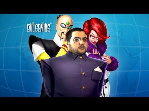 [18] Шон играет в Evil Genius (PC, 2004)