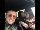 Саша Кабаева и Александр Липовой в машине (2017)