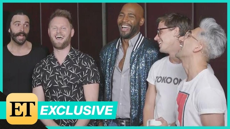 Queer Eyes Fab 5 on Their Bromance With Renaissance Man Justin Theroux (Exclusive)