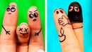 WHAT TO DO ON A BORING DAY || 26 FUN ART IDEAS AND DOODLES